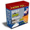 Thumbnail Membership Site With Resell Right