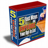 Thumbnail  OptIn Fast Mailing List With Resell Right